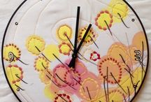 Clocks / Our new hand painted, one-of-a-kind wall clocks.