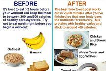 Edzés előtti-utáni étel / Edzés előtti-utáni étel