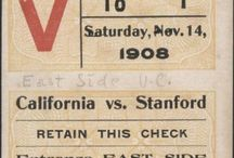 California - Stanford Big Game Ticket Stub Collection / Nearly 15,000 ticket stubs catalogued at www.TicketStubCollection.com