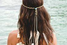 Hippie head pieces