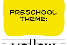 Preschool YELLOW / by Melissa Connelly