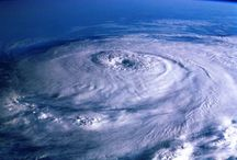 """Cyclone - World Natural Disaster / In meteorology,a cyclone is an area of closed, circular fluid motion rotating in the same direction as the Earth.This is usually characterized by inward spiraling winds that rotate counterclockwise in the Northern Hemisphere and clockwise in the Southern Hemisphere of the Earth. A """"tropical cyclone"""" is a synonym for a hurricane. Most large-scale cyclonic circulations are centered on areas of low atmospheric pressure.The largest low-pressure systems are cold-core polar cyclones and extra tropical"""