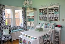 craft/sewing studio