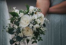 Wedding Flowers in Cornwall White and Green Wedding Flowers.