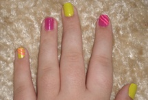 My Nails / Here the nails i do on myself and anyone i can get my hands on ^_^