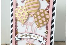 Stampin' Up Balloon Adventures cards