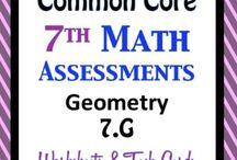 7th Grade Math / by Alexa Daily