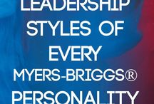 Personality types Leadership Styles