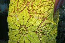 une blouse spéciale au crochet