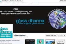GlassDharma Social Networks / GlassDharma is social!  We want to hear, share, comment and chat - so we invite you to join our pages!