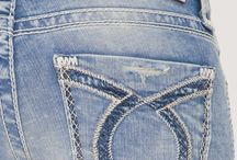 women denim pocket