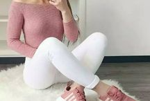 outfit jeans blancos