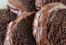 Chocolate zuchini cake
