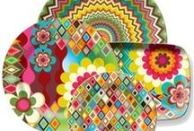 China etc || Colorful Dinnerware, Tableware and more / Colorful Dinnerware, tableware and more / by Eugenia LaVonne Jackson