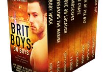 Brit Boys: On Boys / Don't miss Brit Boys: On Boys—a smokin' hot box set, containing 147,000 words/440 pages of unforgettable M/M erotic romance from eight popular British authors.