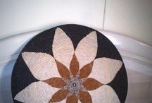 Zulu basketry and other crafted home decor / Zulu wall mat