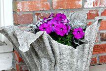 concrete planter easy