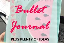 Bullet Journal for Success / Bullet Journal, bujo, plan, planner, organizers, trackers, success, goals, future log, weekly spread