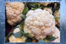 Gluten-Free Cauliflower Recipes / by Heather