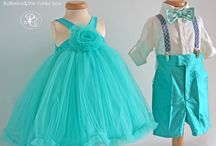 Ballerina&The Funky Boy - Petite Coco Collection / Which girl doesn't dream to become a ballerina? Which boy doesn't want to be funky and cool? And this is the reason we created this baby clothes collection, where we incorporated tulle skirts and bow ties, but also Romanian traditional outfits.