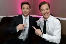 All things Sherlock Holmes / Love them both, but would kick them both out of bed for Iron Man xx