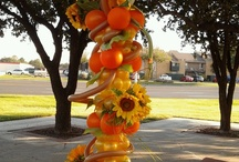 Fall Balloon Decor