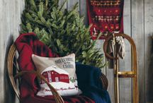 Rustic Christmas / Christmas in the woods, or at the cabin, or just in your own rustic home.