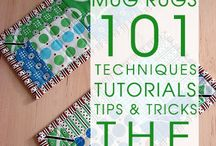 Quilts - Mug Rugs, Pot Holders, Place Mats
