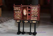 Miniature au 1/12ème / Maison de poupées, personnages, meubles