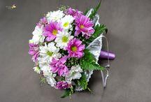 Свадебный букет / Свадебные букеты, букеты, букет цветов, роза, хризантема