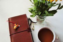 MyPrima Traveler´s notebook / Jouluaiheinen traveler´s notebook