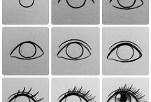 рисуем глаза