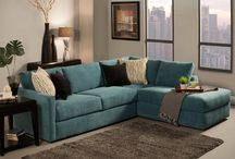 Living room furniture ideas / by Megan -