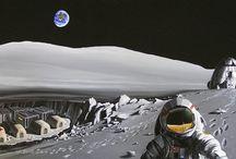 Космос. / Рисунки о Космосе.