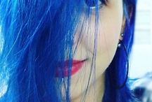 Directions Blue Hair  / Directions hair colour - blue