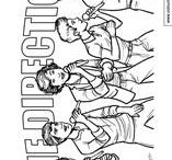 One Direction Colouring Pages