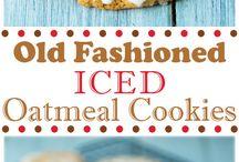 FOOD: Cookies/bars / by Erica Vigil Carlson