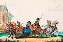 vervoer in de 16de en 17de eeuw