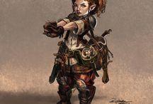RPG Fantasy - Gnomos e Halflings