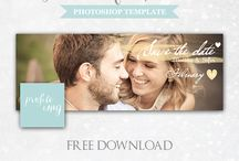 ♥ Freebies ♥ / Photoshop Templates for Photographers from Eleo B. ♥ FREE B: http://eleo-b.blogspot.it/p/freebie.html ENJOY!:)