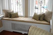 radiator cover seat