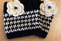 Crochet bootcuffs