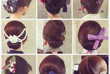 "hair arrange ""matsuri"""