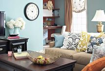 For the Home / Decorating ideas incorporating vintage and retro items for a cozy small bungalow.