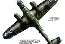 WW2 - AIRCRAFT SCHEMATICS