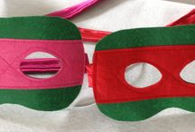Sew Plain masks / the perfect addition to a cape