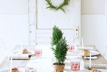 Christmas styling
