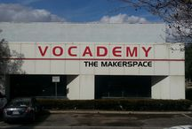 VOCADEMY - HAPPENINGS! / Images of members, projects, and activities happening inside our makerspace!