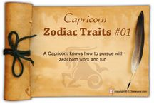 Capricorn Zodiac Traits / Find out about Capricorn characteristics and Capricorn personality traits.