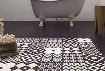 Patchwork tiles / Trendy patchwork tiles